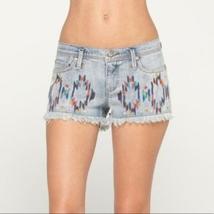 Roxy BLAZE EMBRD Denim Shorts